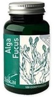 Alga Fucus 100 comprimidos de Sakai