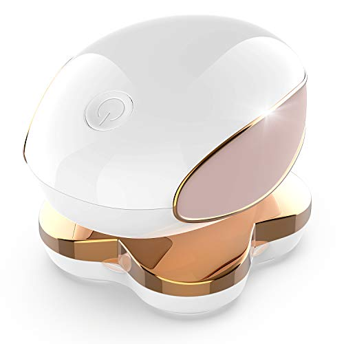 (53 STARS Hair Remover for Women – Premium Hair Remover for Legs & Bikini Area – Women's Electric Razor – 18 k Plated Blades – USB Rechargeable – Ergonomic Design)