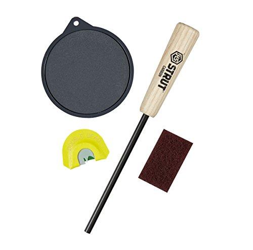 Hunters Specialties H.S. Strut Li'l Deuce 2 Slate Pan Turkey Call with Diaphragm - Pans Slate