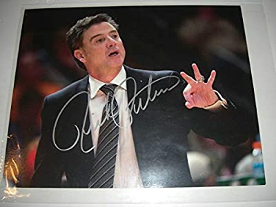 Rick Pitino Autographed Picture - Kentucky Wildcats W coa 8x10 - Autographed College Photos