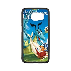 Samsung Galaxy S6 Cell Phone Case Covers White Reluctant Dragon NRI5061208