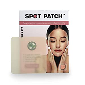 Spot Patch Free-Cut Hydrocolloid pimple blemish patch sticker cover Sheet (10cmx10cm) with Centella Asiatica and Tree…