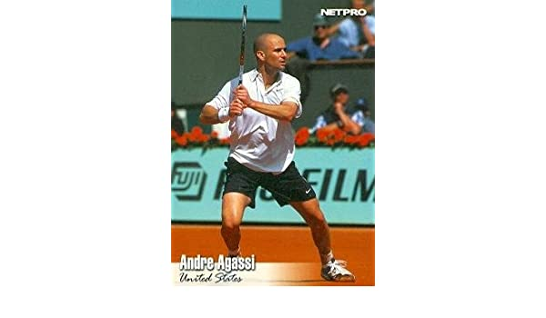 Amazon.com: Andre Agassi Trading Card (Tennis) 2003 Netpro #15: Sports Collectibles