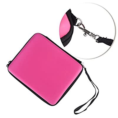 Coohole Colorful EVA Bag Carrying Case Cover Organizer 10 Game Cartridg For Nintendo 2DS