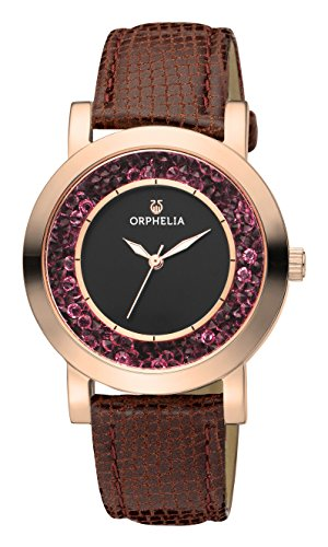 ORPHELIA Hermosa Women's Brown Leather watch-OR11703