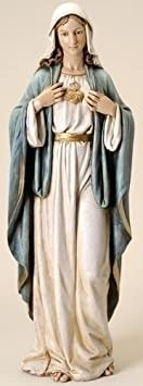 Renaissance Collection Joseph s Studio by Roman Exclusive Immaculate Heart of Mary Statue, 37-Inch