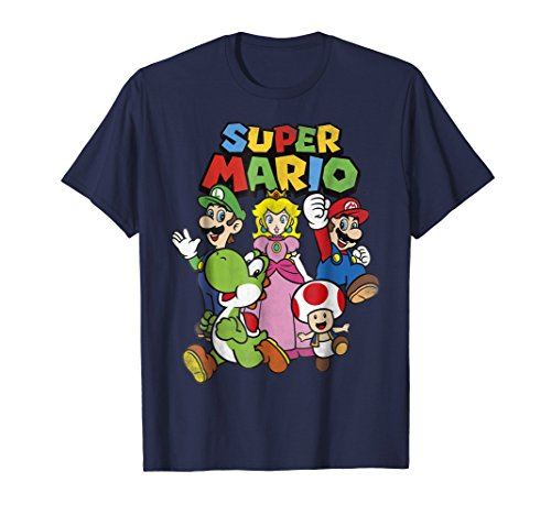 Nintendo Super Mario Heroes Group Graphic T-Shirt -