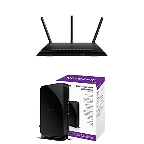 NETGEAR Smart WiFi Router with NETGEAR Cable Modem Only $109.99 (Was $149.99)