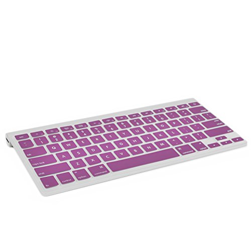 TopCase Silicone Wireless Keyboard PURPLE