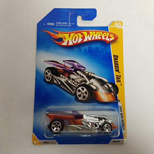 Draggin' Tail Hot Wheels 2009 New Models 1/64 scale diecast car no. 040