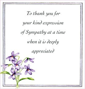 Floral thank you sympathy cards - pack of 10: Amazon.co.uk ...