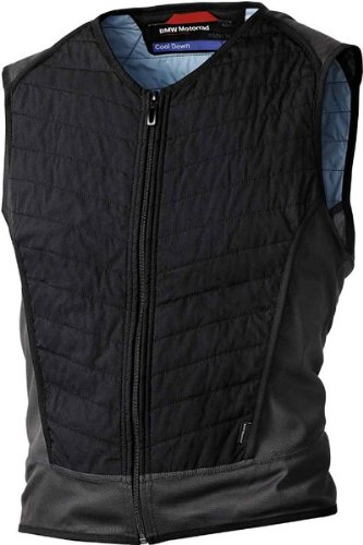 BMW Genuine Motorcycle Motorrad Cool Down vest - Color: Black - Size: EU M US M by BMW
