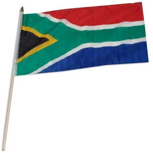 Online Stores South Africa Flag 12 x 18 inch