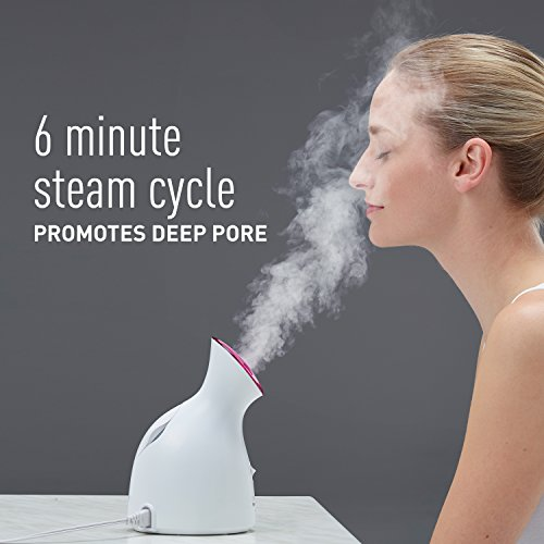 Panasonic EH-SA31VP Spa-Quality Facial Steamer, with Ultra-fine Steam to Moisturize and Cleanse, Compact Design and One-Touch Operation