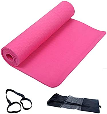herencn Yoga - Esterilla de Yoga Mysore - Algodón biológico de Equa y ecológico - Porta Alfombrilla de Yoga - Bolsa de Esterilla de Yoga - Yoga Bag - Yoga Mat Bag,