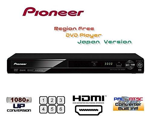 파이오니아 Pioneer DV-3030V[국내판 리젼 프리 버젼]음성 부착 하야미 재생 기능(약1.4배속)지상 디지털 프로그램을 녹화 했 DVD디스크도 재생 가능(CPRM대응) HDMI단자 탑재 리젼 프리DVD플레이어(PAL/NTSC대응) 전세계의 DVD가 시청 가능 [완전1년 보증 3년 연장 보증 대응 판매점 한정 보증서/HDMI케이블 부속]