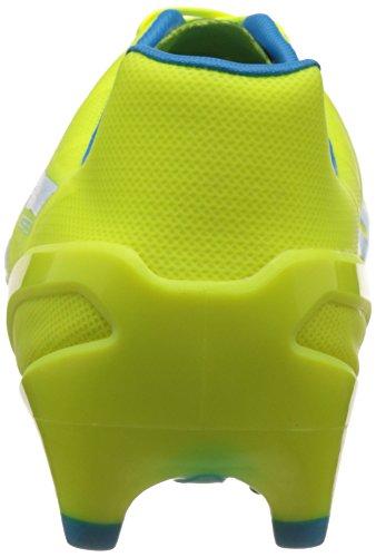 Puma Evospeed 1.4 Fg - Botas de fútbol Hombre Amarillo - Gelb (safety yellow-atomic blue-white 04)