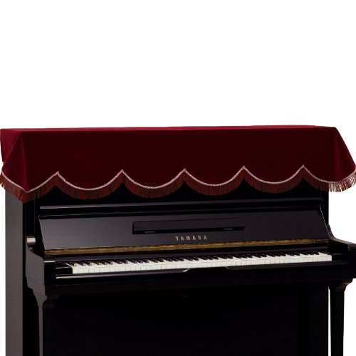 Piano cover for upright piano pt me accessories for Yamaha upright piano cover