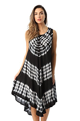 Riviera Sun 21802-BLK-L Dress Dresses For Women by Riviera Sun (Image #1)