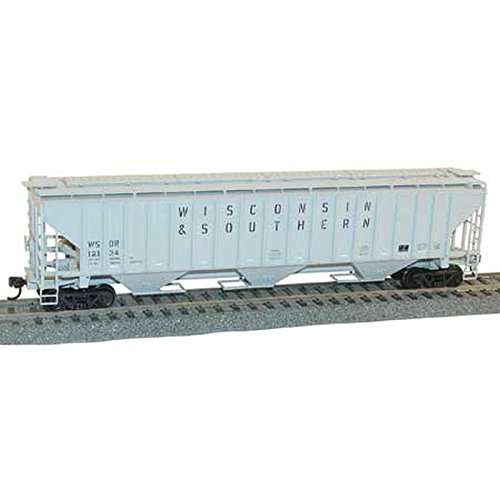 4750 Hopper - Accurail ACU6519 HO KIT PS-4750 3-Bay Covered Hopper, WSOR Wisconsin & Southern