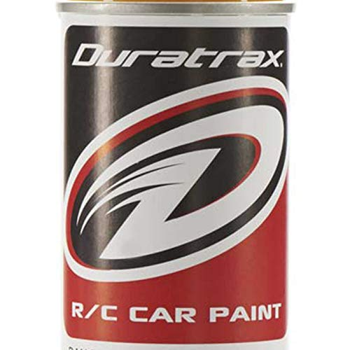 Duratrax Polycarbonate Radio Control Vehicle Body Spray Paint, 4.5 Ounces, Bright Yellow
