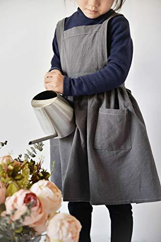 [해외]Aprons for Kids Children`s Clothes Kids Skirt Simple Washed Cotton Uniform UniDrawing Cooking Gardening Baking Cake Multi Use / Aprons for Kids Children`s Clothes Kids Skirt Simple Washed Cotton Uniform UniDrawing Cooking Gardening...