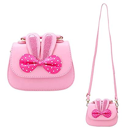 2e33eab7a770 Image Unavailable. Image not available for. Color  CC ONE Little Girls  Crossbody Purse for Kids - Toddler PU Leather Mini Cute Handbags Shoulder