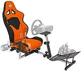 OpenWheeler GEN3 Racing Wheel Stand Cockpit Orange