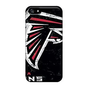 Unique Design Iphone 5/5s Durable Tpu Case Cover Atlanta Falcons