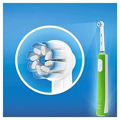 Oral-B Junior Elektrische Zahnbürste, für Kinder ab 6 Jahren, grün 4