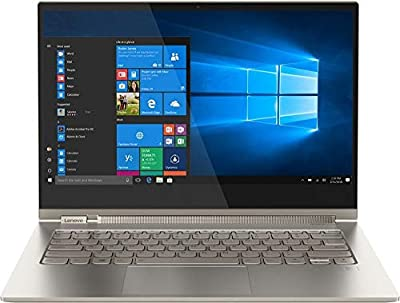 "2019 Lenovo Yoga C930 2-in-1 13.9"" 4K UHD Touch-Screen Laptop - Intel i7, 16GB DDR4, 1TB PCI-e SSD, 2X Thunderbolt 3, Dolby Atmos Audio, Webcam, WiFi, Windows 10, Active Pen, 3 LBS, 0.6"", Mica"