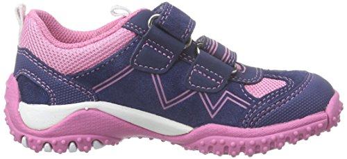 Superfit SPORT4 MINI - zapatillas de running de piel Bebé-Niños azul - Blau (WATER MULTI 89)