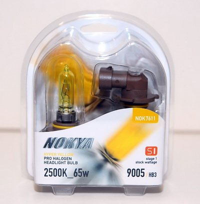 yellow 9005 headlight bulbs - 4
