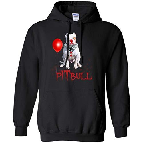 Pitbull - IT Film Lover, Dog Lover Hoodie, -