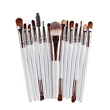 Amazon.com: 15Pcs Makeup Set Brochas Foundation Eyebrow ...