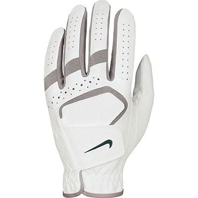 Nike Women's Dura Feel IV Regular White/Mauve Golf Glove