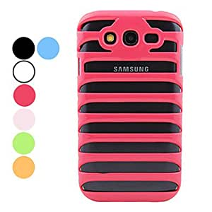ENKAY Ladder Pattern Hard Case for Samsung Galaxy Grand DUOS I9082 --- COLOR:Black