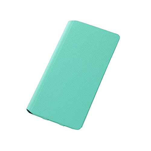 Colorful Slim Leather Style Case for iPhone 6 Plus (Mint Green)