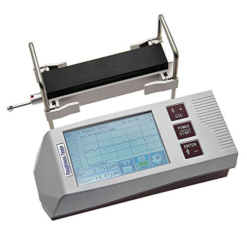 Roughness Tester/Portable Roughness Measuring, Professional Surface Roughness Tester Metal Surface Roughness Gauge…