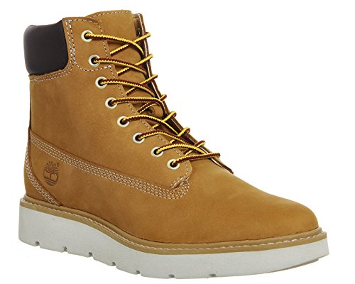 Timberland Kenniston 6in Lace U Glazed Ginge - Botines de cordones Mujer Wheat