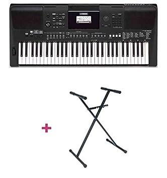 Pack Yamaha PSR-E463 - Teclado arreglador + soporte en X: Amazon.es: Instrumentos musicales