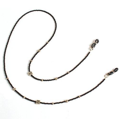 (De Suave Eyeglass Cord - Silver Accent (Silver))