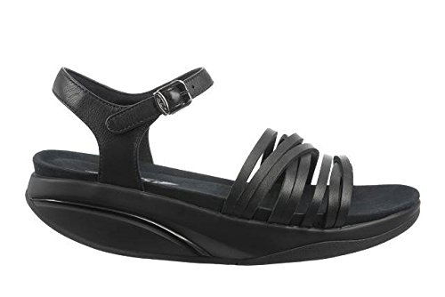 Straps with MBT Kaweria Sandals Women's Black FqwnYnTSZ