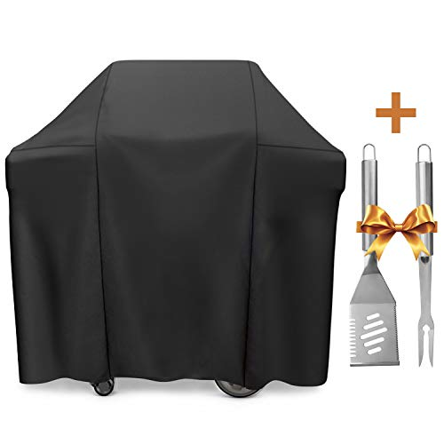 SHINESTAR 7129 Grill Cover for Weber Genesis 2 Burner Grill, Heavy Duty Grill Cover for Genesis II E-210/Genesis II LX 240 Grill, Fits for Weber Genesis Silver A/Silver B/Silver C Series Grill