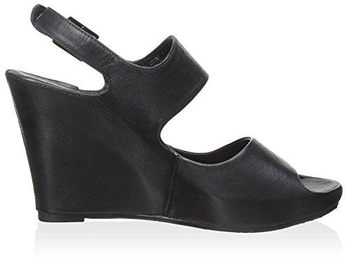 Chocolat Women's Blu Leather Black Cortez Sandal wF0FYqrxB