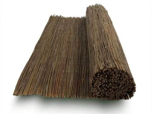 Weidenmatte - 18 Größen zur Auswahl - Made in EU - Bamboogla Qualitätsprodukt 100 x 300 cm