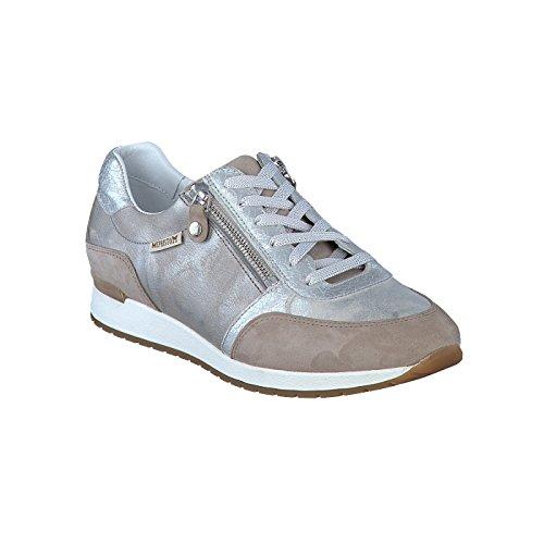 Mephisto Para Mujer De Gris Cordones Zapatos tr6q0wxpra