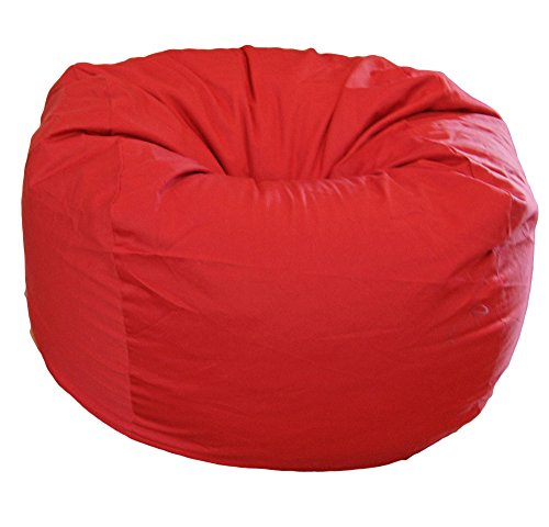 Ahh! Products Red Organic Cotton Large Bean Bag Chair by Ahh! Products