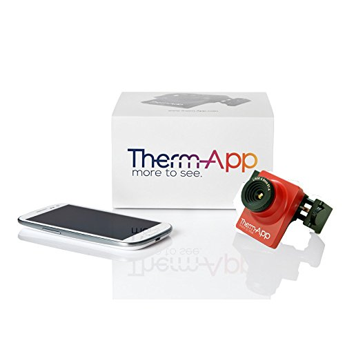 Therm-App TH Thermographic Imaging Camera Lens by Opgal | Compact Thermal Imager for Android Phone | (50 Thermal Camera)