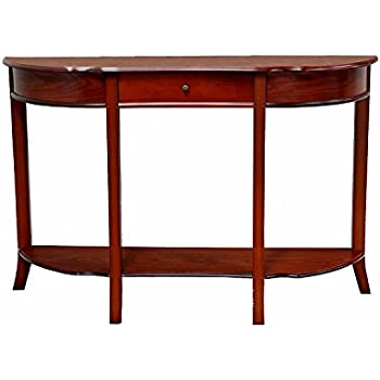 Amazon Com Tall Narrow Console Table Entryway Table